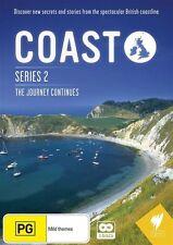 Coast : Series 2 (DVD, 2010, 2-Disc Set) New  Region Free