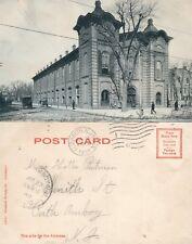 ELIZABETH N.J. CITY HALL UNDIVIDED 1907 ANTIQUE POSTCARD