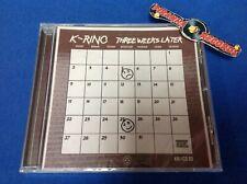 K-Rino Three Weeks Later 4-Piece 03 Texas Rap CD NEW 2019 Piranha Records