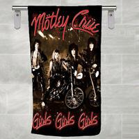 Motley Crue Girls Girls Girls Chase Rubble Bath Beach Holiday Swim Cotton Towel