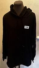 VICTORIA'S SECRET PINK Hooded T-Shirt /Tee Size Medium- NEW !!