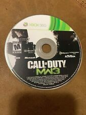 Call of Duty Modern Warfare 3 Microsoft Xbox 360 MW3 Video Game Disc Only Rate M