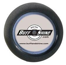 """BUFF and SHINE 8"""" black foam finish buffing pad #2000G"""