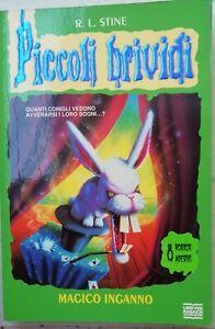 Piccoli Brividi n. 41 Magico inganno prima edizione 1998 con adesivi