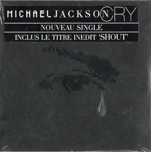 MICHAEL JACKSON - CRY / CD SINGLE (2001) / NEUF SOUS BLISTER D'ORIGINE