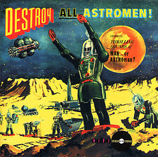 Man or Astro-Man? Destroy All Astromen! CD Garage Rock Surf Punk Estrus NEW