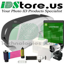 IDP Smart 31D Dual Side Complete Photo ID Card Printer System