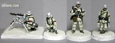TQD GH06 20mm Diecast WWII German Heer 1943-45 Winter Infantry MG42 Team