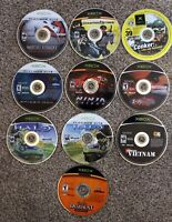 Lot of 10 Microsoft Xbox 1 Game Disc Only *Untested/Not Working*