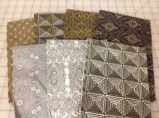 Parson Gray Seven Wonders, Boro, Empire, Katagami Fabric Fat Quarter Bundle