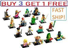 ☀� Lego 71027 Series 20 Minifigures Llama Pajama Viking Piñata Pea Pod Diver New