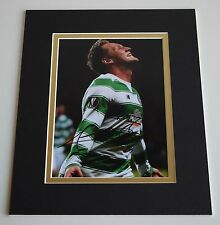 Kris Commons Signed Autograph 10x8 photo display Celtic Football AFTAL COA