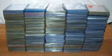 LOT OF 500+ USED TOPLOADERS HARD CASES FOR REGULAR CARDS L@@K!!!!!! LOT 19