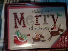 18 Pack Christmas Cards