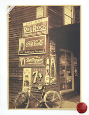 Retro Decor Poster Grocery store In the Corner Poster Room Bar Decor A125
