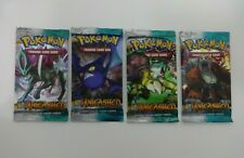 LOT 4 X POKEMON HEARTGOLD SOULSILVER UNLEASHED BOOSTER PACKS SEALED ALL ARTWORKS