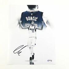 Luka Doncic signed 11x14 photo PSA/DNA Dallas Mavericks Autographed