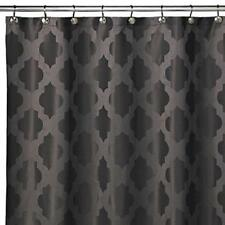 New Tangiers 72-Inch x 72-Inch Shower Curtain in Grey, 100% Polyester