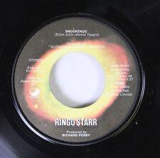 Rock 45 Ringo Star - Snookeroo / No No Song On Apple Records