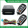Remote Auto Car Control Central Lock System Locking Security Keyless Entry Kit