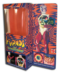 """Mattel HYPNOS  Box for 13 1/2"""" Action Figure PULSAR'S ENEMY (BOX ONLY!!!)"""