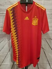 e3248a616 SPAIN XL SOCCER JERSEY 2018 FIFA FUTBOL WORLD CUP MENS ADIDAS AUTHENTIC   130 NEW