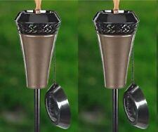 TIKI Stainless Steel Garden U0026 Patio Torches