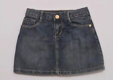 "Gymboree ""Bright Ideas"" Bow Blue Jean Denim 5 Pocket Skirt, 5"