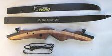 "2020 Gk Archery Rhino 62"" Rh take-down recurve target bow 30#"
