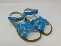 Salt Water Girls Shiny Turquoise Original Sandals Size 10 Toddler US