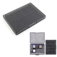 Black 18 in 1 Game Memory Card Case Holder Storage Box for Sony PS Vita PSV NEW