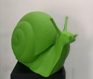 CRACKING ART, chiocciola verde