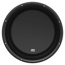 """MTX 3512-04S 12"""" SHALLOW SLIM SUBOOWFER 4 OHM 300W  RMS FREE SHIPPPING NEW"""