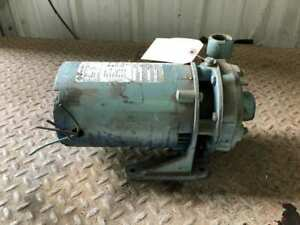 "1"" X 1-1/2"" CI Centrifugal Pump 1-1/2HP 2875/3450RPM 3PH"
