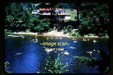 c.1952 Shore Acres, Loyalsock Creek, Pennsylvania, Original Slide d13a