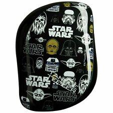 NEW Star Wars Tangle Teezer Detangling Hairbrush Compact Styler Black