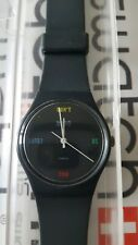 Swatch Don't Be Too Late GA100 Standard Gents 34mm vintage box  #1