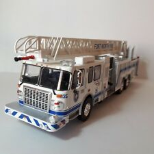 1/43CAMION TRUCK BOMBEROS ESCALERA 105RM SMEAL-SPARTAN FORT WORTH FIRE HACHETTE