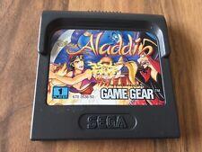 Game Gear:      ALADDIN   en loose