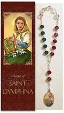 St. Dymphna Chaplet (PS924) NEW Patron Saint of Mental and Emotional Illness