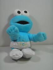 "Fisher-Price Sesame Street Babies 12"" Talking Baby Cookie Monster Plush Doll GUC"