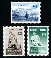 Belgium Stamps # B492-4 VF OG LH Set of 3 Scott Value $68.00