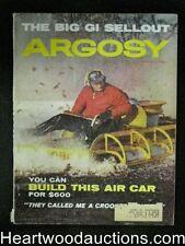 Argosy Mar 1960 Classic Cigarette Boxes