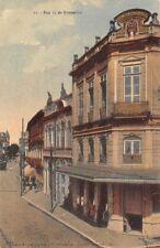 BELEM, PARA, BRAZIL ~ RUA 15 DE NOVEMBRO, TROLLEY ~ used 1910