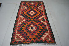 persian/turkish kilim rug handwoven maimana from Afghanistan 180*96cm (g517)