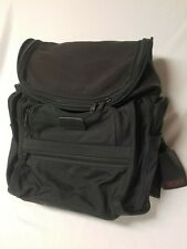 "Tumi Alpha 3? black backpack laptop travel bag 15"" Made in USA"