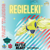 REGIELEKI 6IV CROWN TUNDRA LEGENDARY - POKEMON SWORD & SHIELD - TRADING NOW