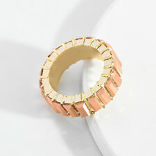 Fashion Filled Rainbow Rings Baguette Crystal Finger Ring Party Charm Decor