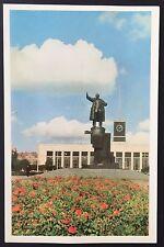 LENINGRAD Lenin Memorial POSTCARD Statue RUSSIA Finland Station USSR 774