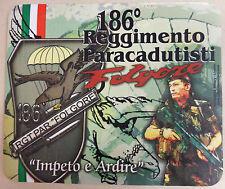 "Mouse Pad Computer Commemorativo 186° REGGIMENTO PARACADUTISTI ""FOLGORE"""